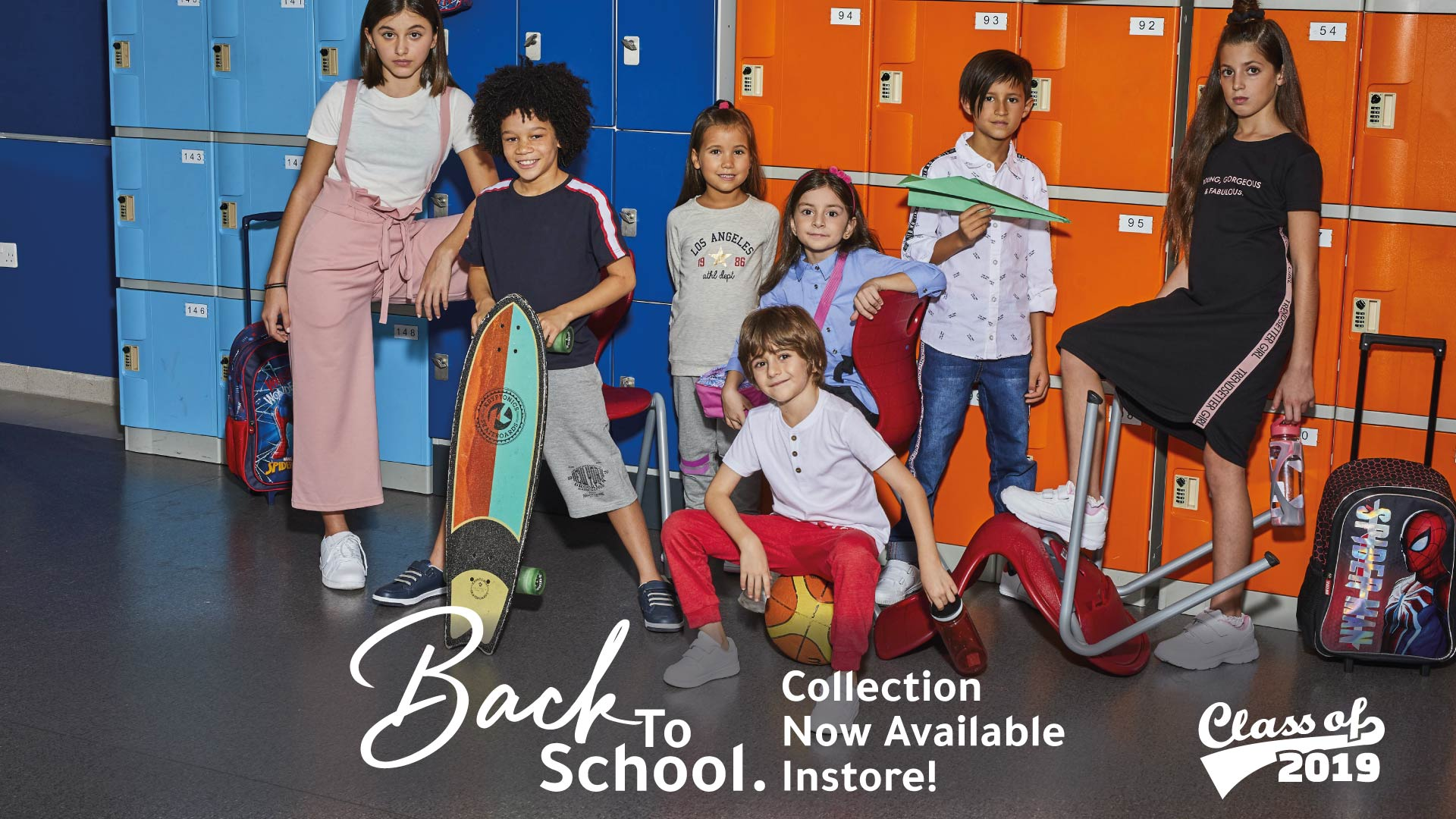 Kids fashion back-to-school collection
